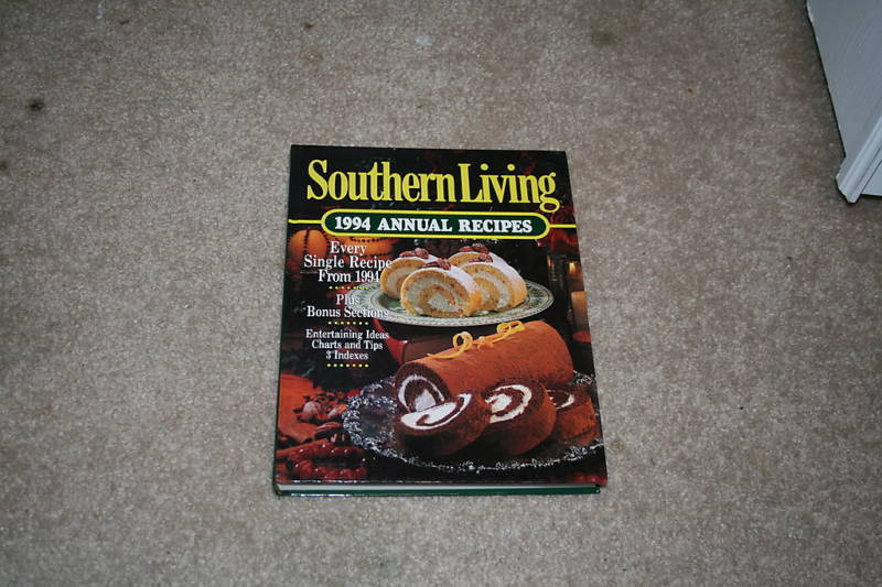 Southern Living 1994 Annual Recipes by Southern Livi...