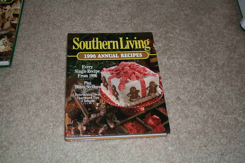 Southern Living 1996 Annual Recipes by Southern Livi...