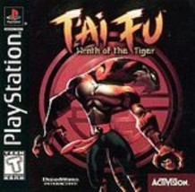 T'ai Fu: Wrath of the Tiger  (PlayStation, 1999) - $9.30