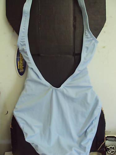 Ultimate One- Piece Swimsuit Size L NWT Baby Blue