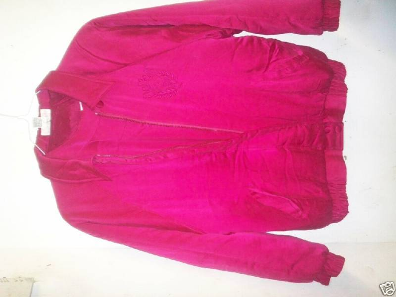 Primary image for WOMANS 100% SILK JACKET/FUSCHIA/SIZE SMALL