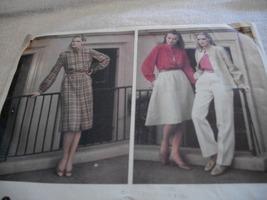 Misses' Camisole, Skirt, Shirt, Dress & Pants Pattern Vogue 2649 - $7.00