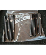 set of 16 chevrolet push rods from early chevy motor - $18.30