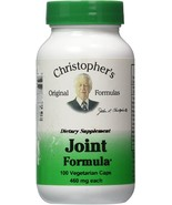Christopher's Original Formulas - Joint Formula - 100 Vegetarian Capsules - $11.99