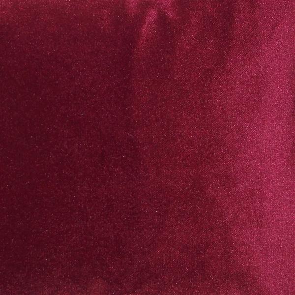 Pillow Decor - Corona Scarlet Velvet Pillow 12x20