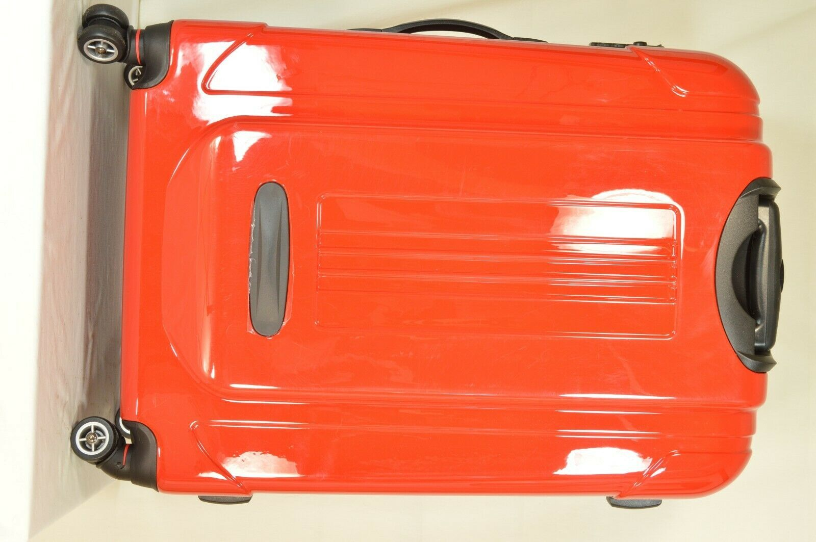 "Traveler's Choice 29"" Sedona new spinner red polycarbonate shell combo lock image 8"