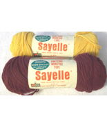 KMart Sayelle Orlon Acrylic Yarn Two Skeins - $3.29