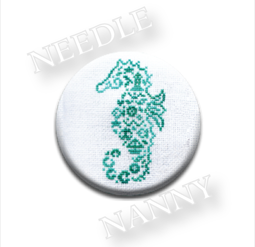 Seahorse Flamingo Needle Nanny cross stitch JBW Designs