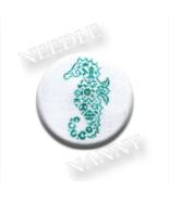 Seahorse Flamingo Needle Nanny cross stitch JBW... - $12.00