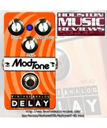 ModTone MT-AD Analog Delay Effects Pedal - $99.95