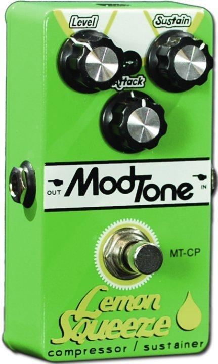 ModTone MT-CP Lemon Squeeze Compressor Effects Pedal