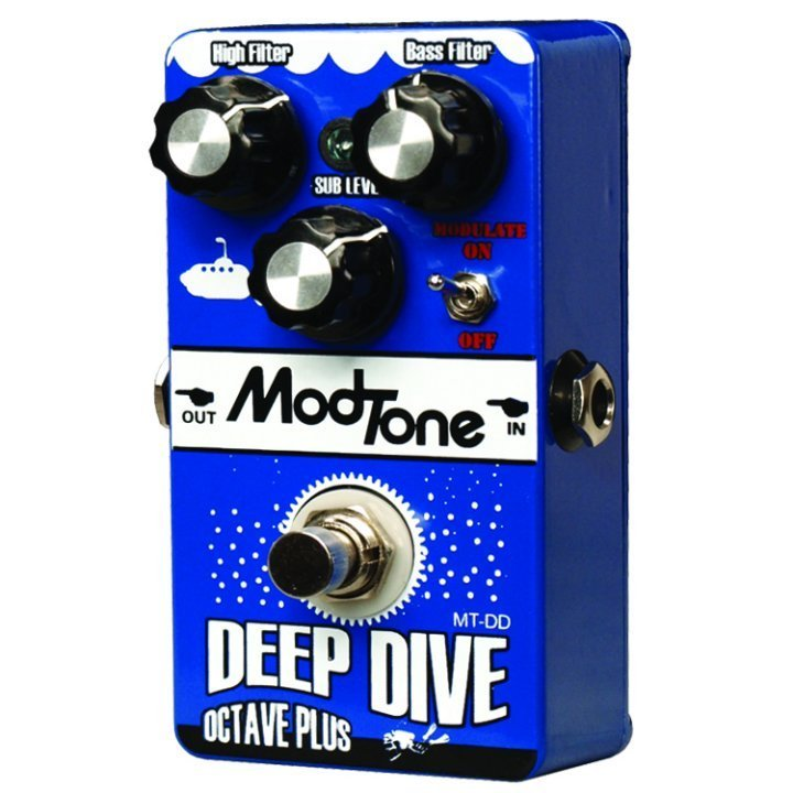 ModTone MT-DD Deep Dive Octave Plus Effects Pedal