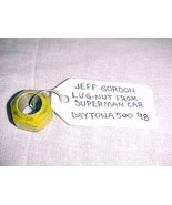 JEFF GORDON LUG-NUT FROM SUPERMAN CAR DAYTONA 500 - 1998 - FREE SHIPPING - $42.99