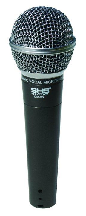 SHS Audio OM-V3 Vocal Dynamic Microphone, Cardioid