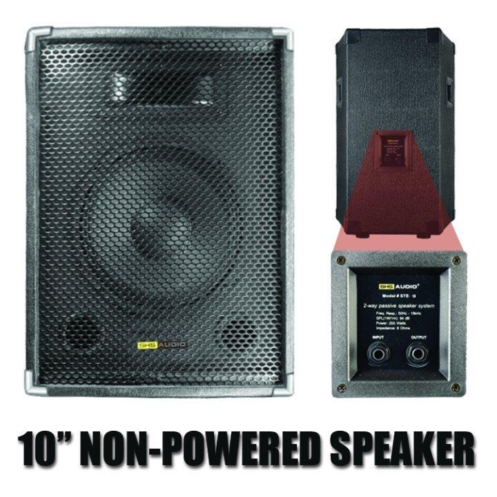 SHS Audio STE-10 10