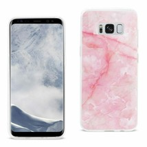 New Reiko Samsung Galaxy S8/ Sm Streak Marble Cover In Pink - $8.75