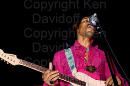 Jimi Hendrix Rare 8x12 Photograph Performing at... - $99.99