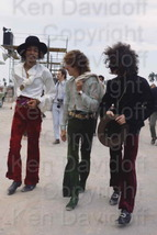 Jimi Hendrix Rare 8x12 Photograph with The Experience at 5/18/68 Miami P... - $99.99