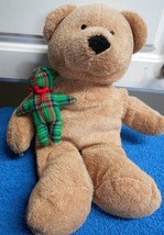 Ty Pluffies Pluffy Bear Merry Plush Bear  Stuffed Animal - $3.89