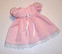 Preemie & Newborn Girls Pink Dress & Matching Panties - $26.00