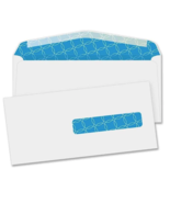 QualityPark Antimicrobial Envelopes Right Window No10 500/Box Self Seal ... - $66.40