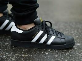 Adidas Originaux Superstar Foundation Chaussures Noir/ Blanc/ or Baskets... - $127.10