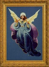 Angel of the Morning cross stitch Lavendar & Lace Marilyn Leavitt-Imblum - $12.60