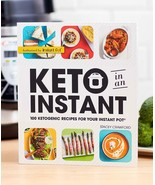 Keto in an Instant : 100 Ketogenic Recipes for Your Instant Pot by Stacey... - $11.88