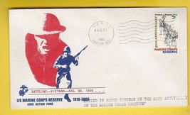 MARINE CORPS ANNIVERSARY MAILED FROM SOUTH VIETNAM US NAVY AUGUST 30 1966  - $2.98
