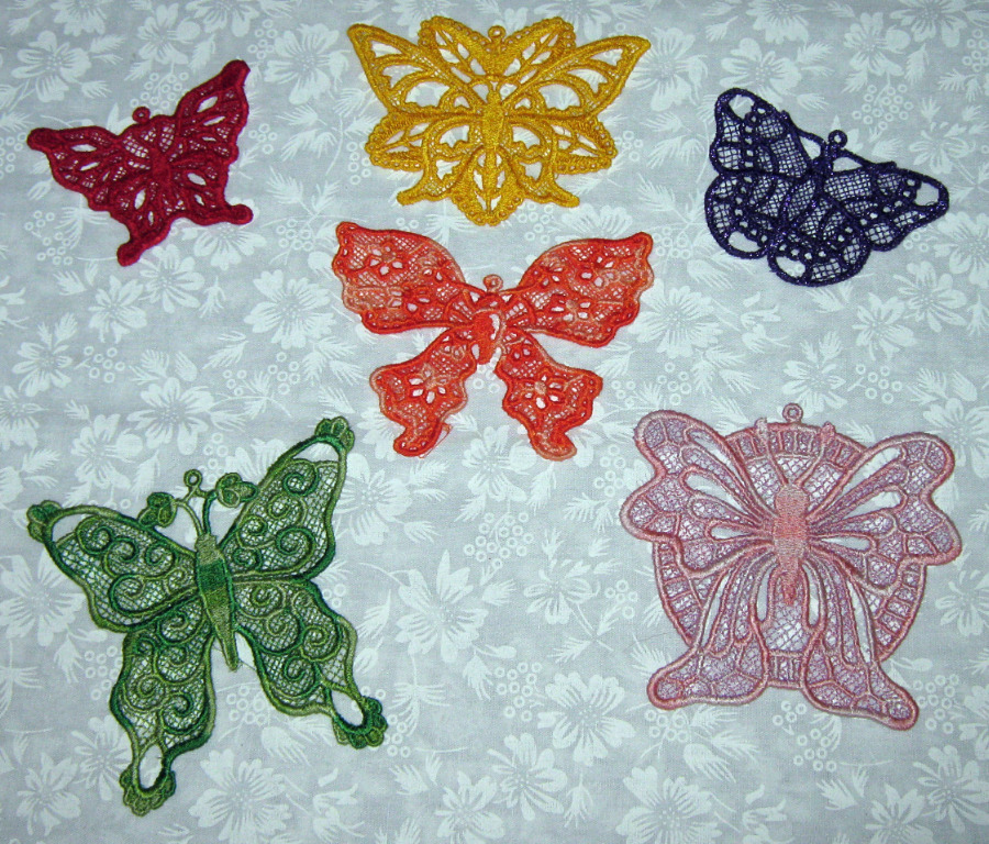 Colorful butterflies 1