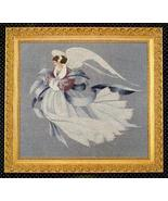Angel of Winter cross stitch Lavendar & Lace Marilyn Leavitt-Imblum - $12.60