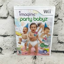 Imagine Party Babyz Nintendo Wii Video Game Rated E For Everyone - $4.94