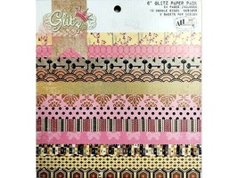 Glitz All Dolled Up Paper Pad, 6x6 Inches