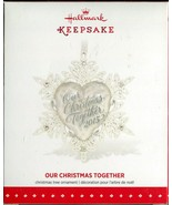 2015 Hallmark Keepsake Ornament - Our Christmas Together - Metal & Glass - $8.01