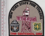bear usfs new york state fire towers lookout 100 years service patch khaki  10.99 thumb155 crop