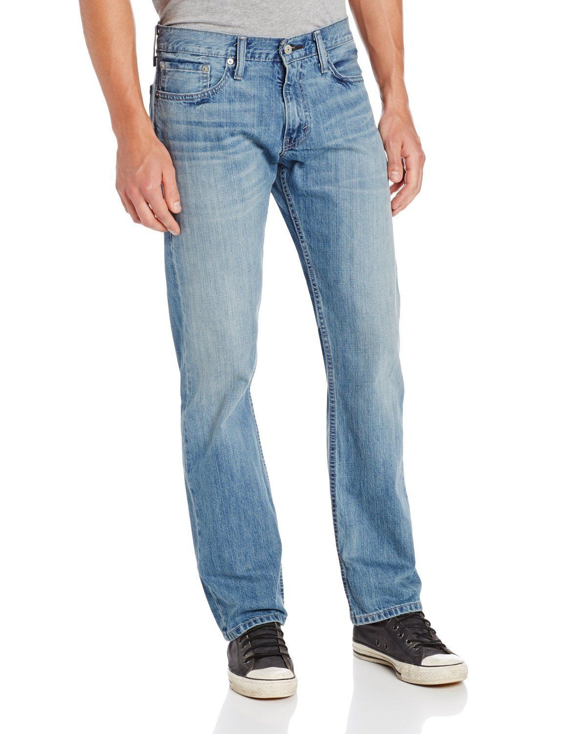 NEW LEVI'S STRAUSS 514 MEN'S COTTON ORIGINAL SLIM STRAIGHT LEG JEANS 514-0540