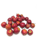 """Red Apples 22 Lifelike Delicious Tiny 1+"""" Foam Kitchen Home Staging Display - $10.88"""