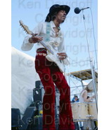 Jimi Hendrix Rare12x18 Photograph Performing at... - $199.99