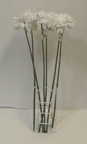 Teters ESF70001WH Single Stem White Gerbera Daisy 6 per Box