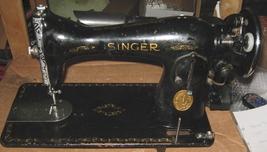 Vintage Singer 15-91 Balance Wheel w/ Gears & Stop Motion Knob image 5