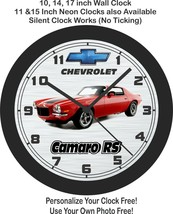 1970 Chevrolet Split Bumper Camaro RS Wall Clock-Free US Ship - $27.71+
