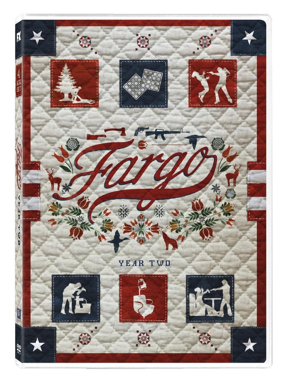 Fargo second season two 2  dvd  2016 4 disc  dunst  danson