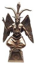 Pacific Giftware Goat Baphomet Satanism Sabbatic Sculpture, Bronze - $42.56