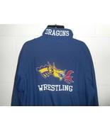 Vintage 80s 90s Cliff Keen Drexel Dragons Wrestling Windbreaker Jacket C... - $99.99