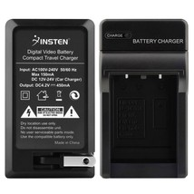 INSTEN Battery Charger For Casio NP-80 Exilim EX-S5 EX-Z1 Z270 - $15.99