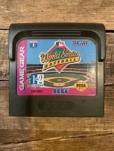 World Series Baseball (Sega Game Gear, 1993) Cartridge Only - $2.96