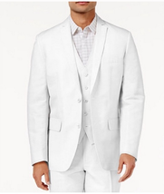 I.N.C. Men's White Cotton Blazer, Size Medium - $89.09