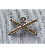 WWI ERA 2nd ARTILLERY REGIMENT ENLISTED COLLAR INSIGNIA COLLECTABLE MILI... - $24.95