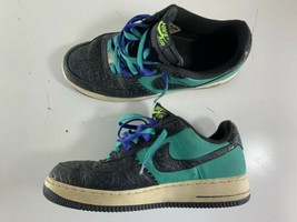 Nike Air Force 1 Low Godzilla Atomic Teal Gray Mens Shoes 488298 304 SZ 10 - $34.64