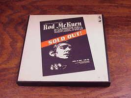 1969 Rod McKuen at Carnegie Hall Reel to Reel to Reel Tape, no. 1794 image 1